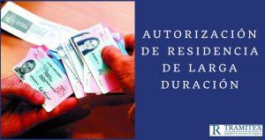 Autorización de residencia de larga duración
