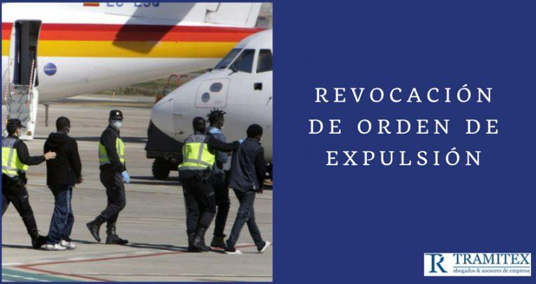 Revocación de Orden de Expulsión