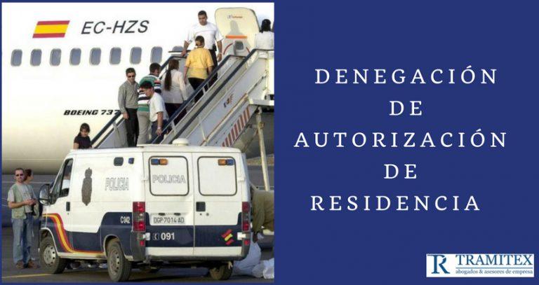 Denegación de Autorización de Residencia