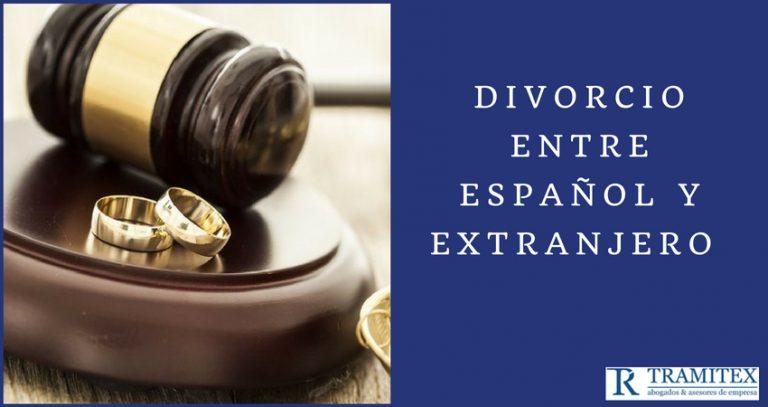 Divorcio entre español y extranjero
