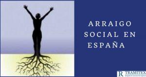 Arraigo social en España