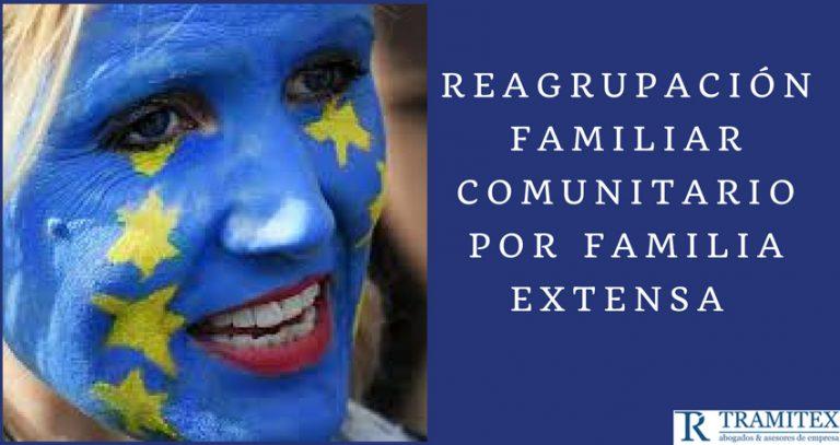 Reagrupación familiar comunitaria por familia extensa