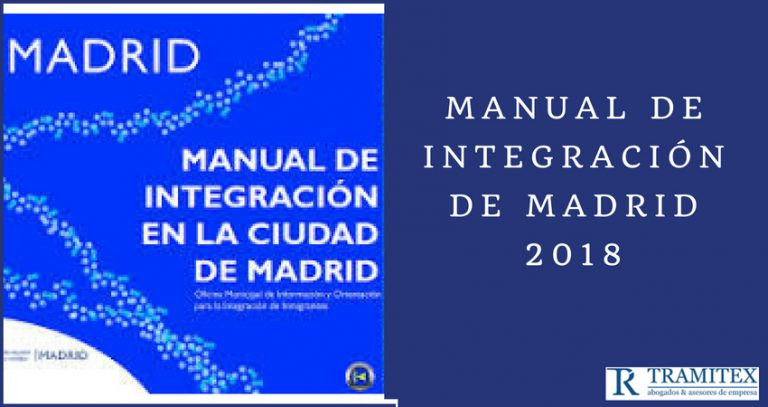 Manual de integración de Madrid 2018