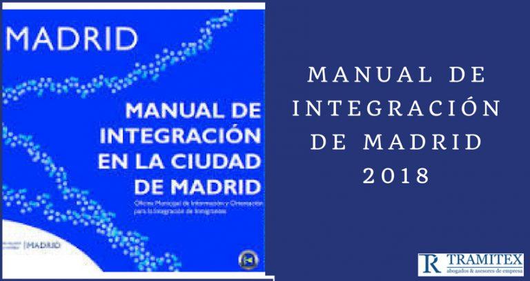 Manual de integración de Madrid 2018