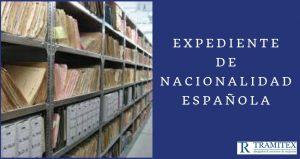 Expediente de nacionalidad española
