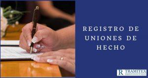 Registro de Uniones de Hecho
