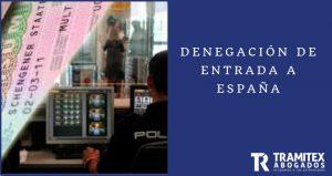 Denegación de entrada a España