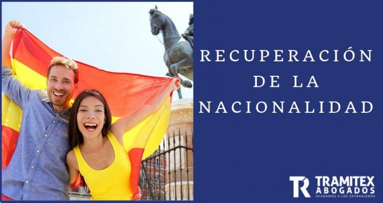 Recuperación de la Nacionalidad