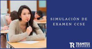 Examen para la nacionalidad CCSE SIMULACIÓN